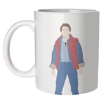 Marty McFly Back To The Future Mug Art Wow