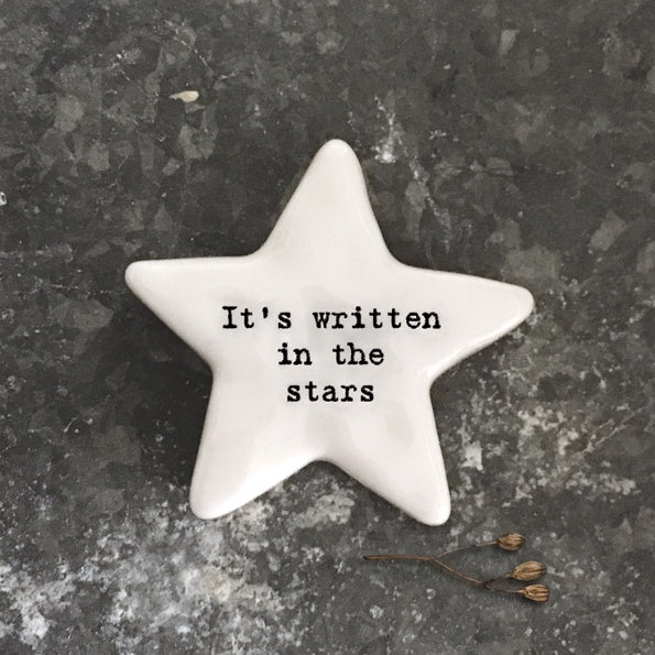 East of India Star Token It's Written In The Stars