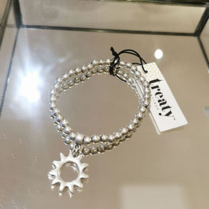 Treaty Jewellery Sun Stretchy Bracelet
