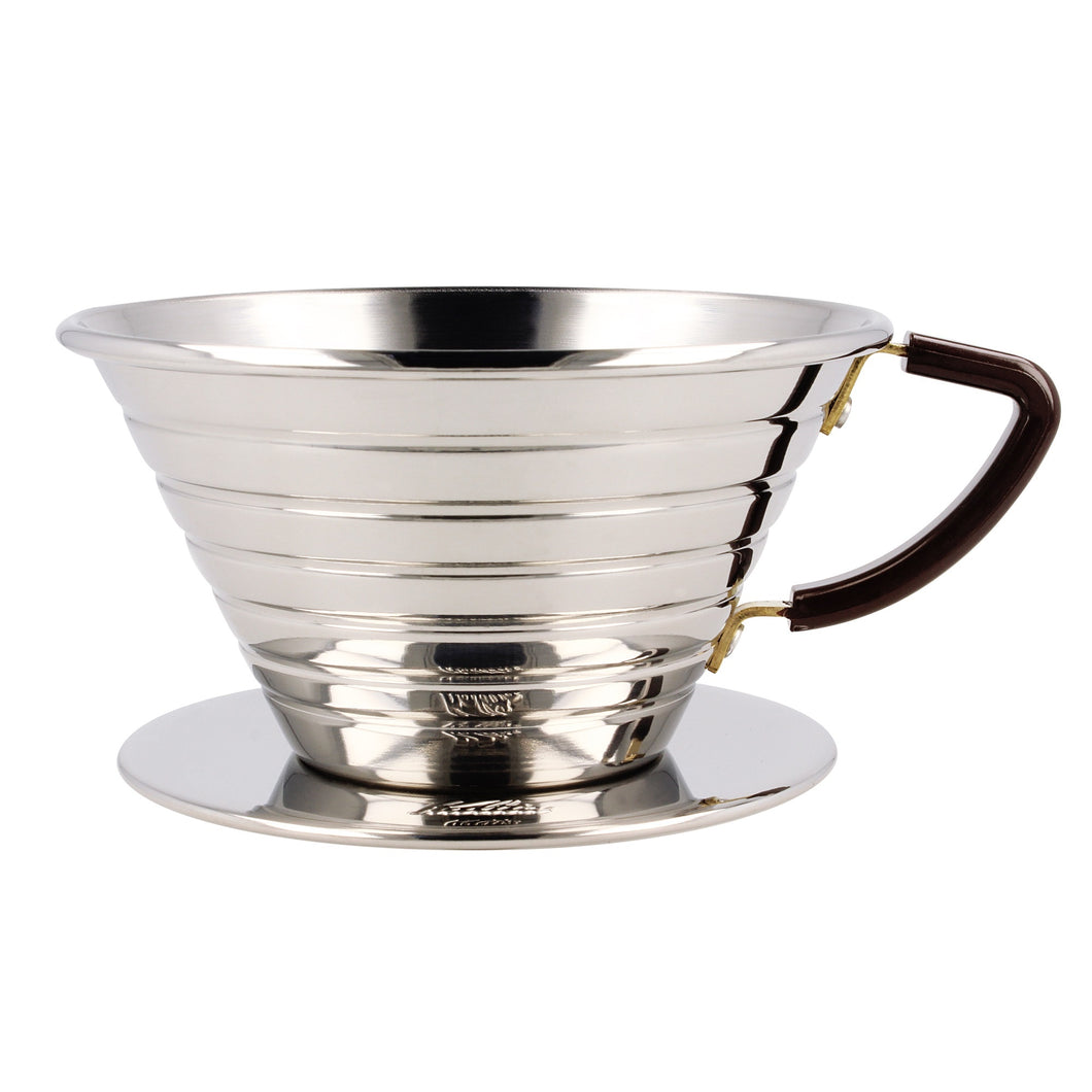 Dripper Kalita Wave 185 inox ( 4 tasses )