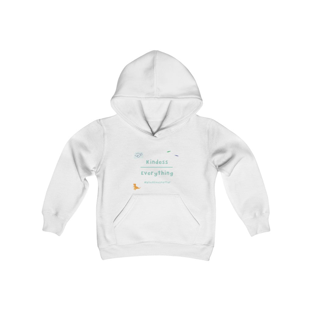 Kindess Over Everything Youth Hooded Sweatshirt