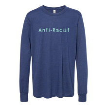 Load image into Gallery viewer, Anti-Racist Youth Jersey Long Sleeve Tee