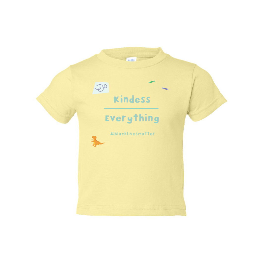 Kindness Over Everything Toddler Cotton Tee