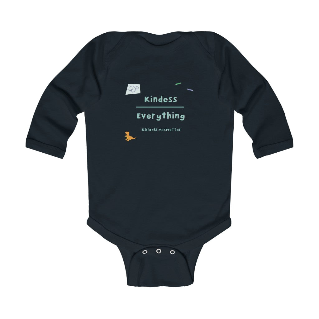 Black Lives Matter Infant Long Sleeve Bodysuit