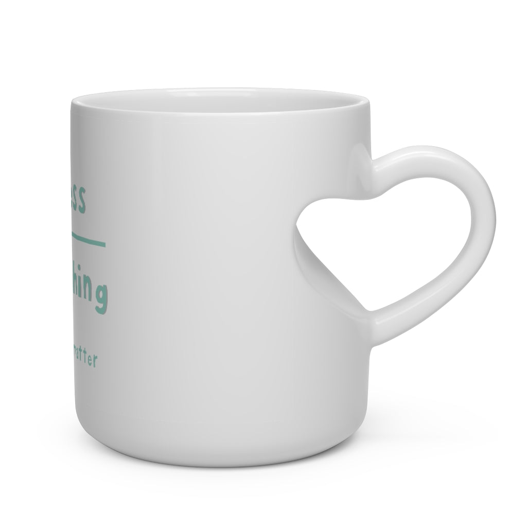 BLM Heart Shape Mug
