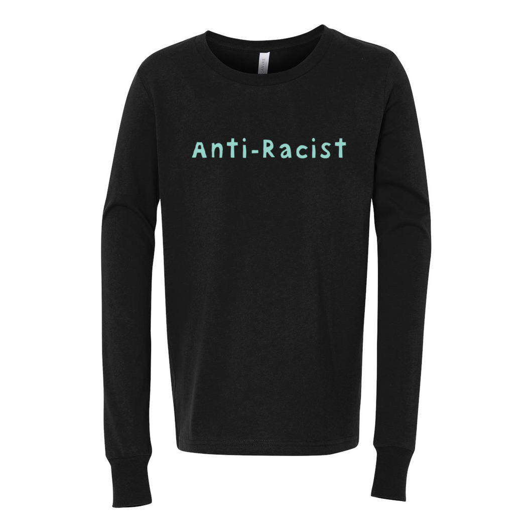 Anti-Racist Youth Jersey Long Sleeve Tee