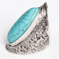 The Turquoise Filligree Ring