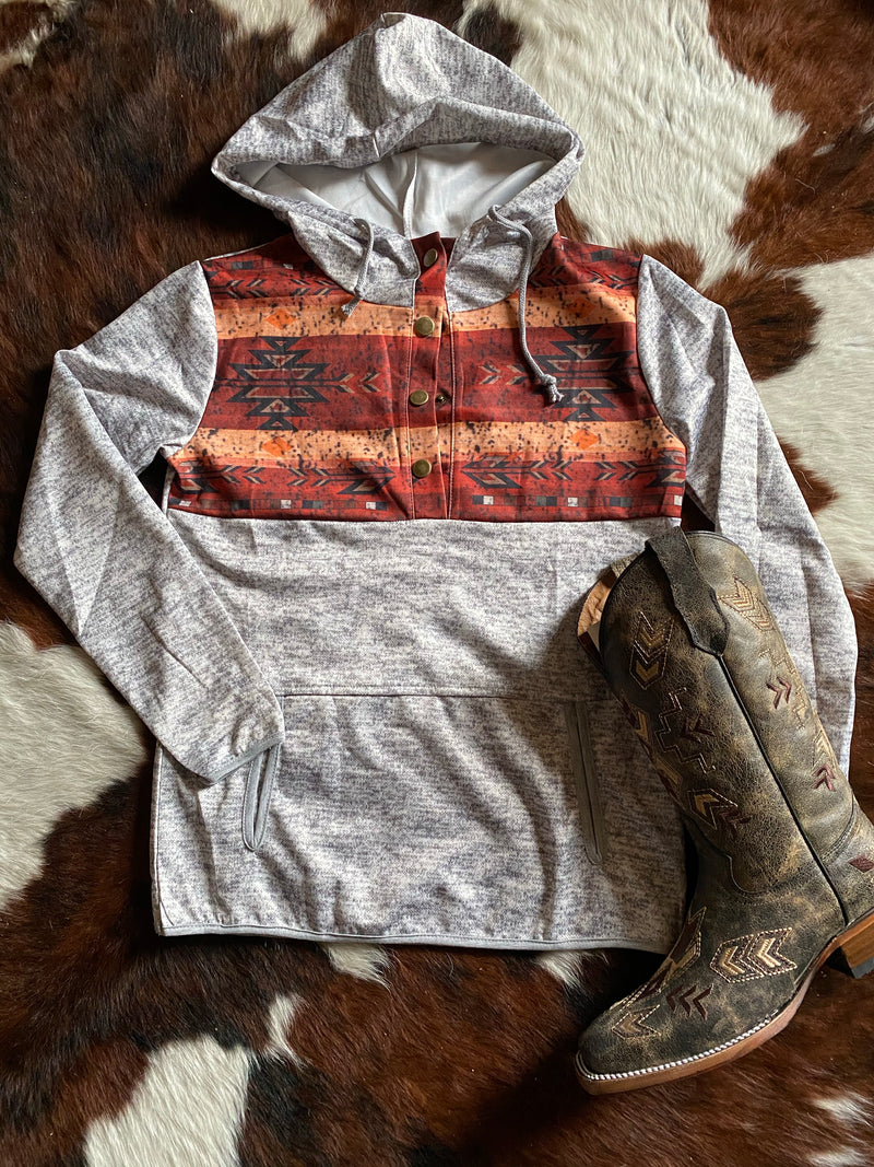 Trinity's Southwestern Pullover
