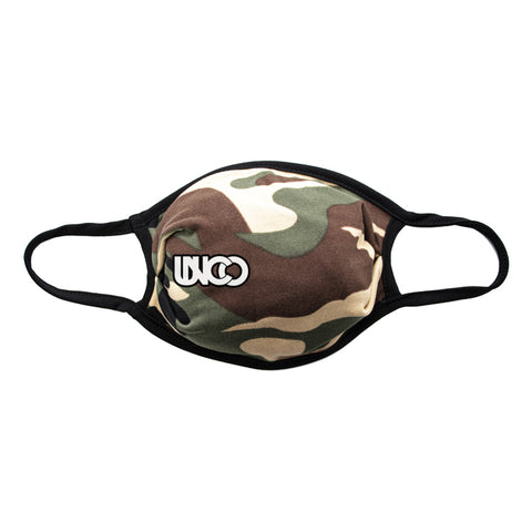 camouflage unco face mask