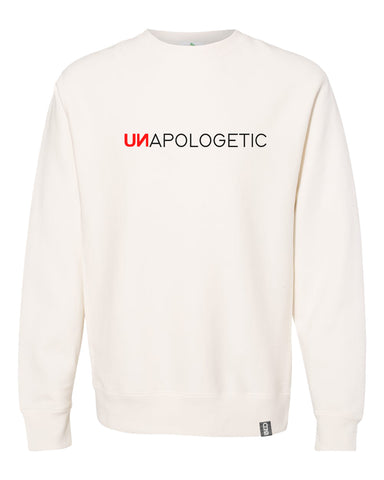 unapologetic crewneck sweatshirt