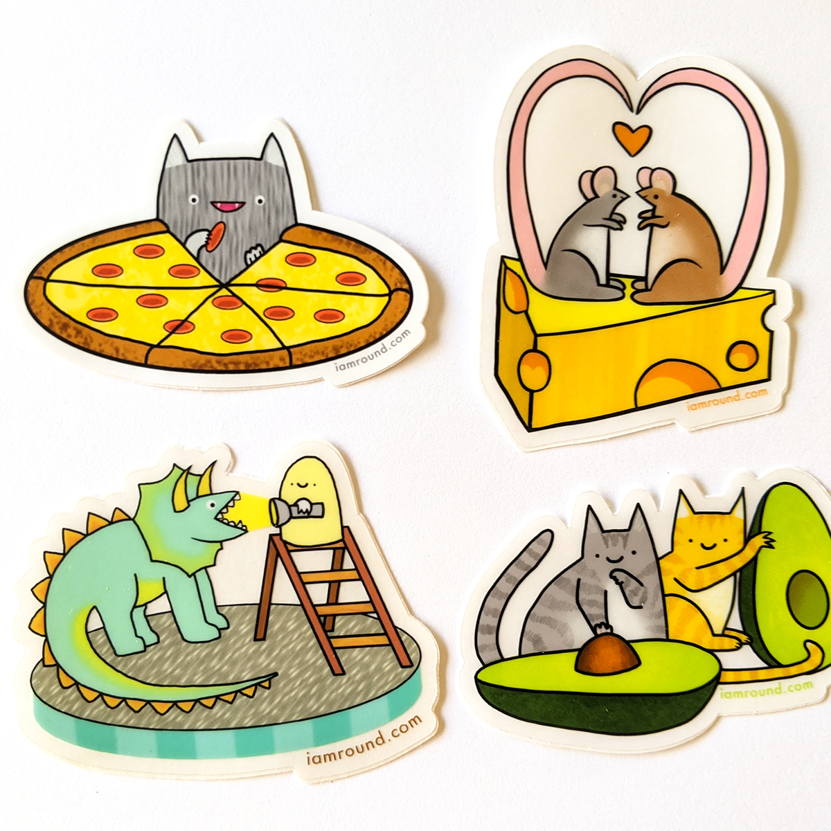 Vinyl Stickers - Snack Pack