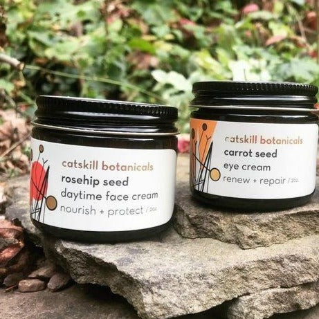Rosehip Seed Daytime Face Cream and Carrot Seed Eye Cream Set