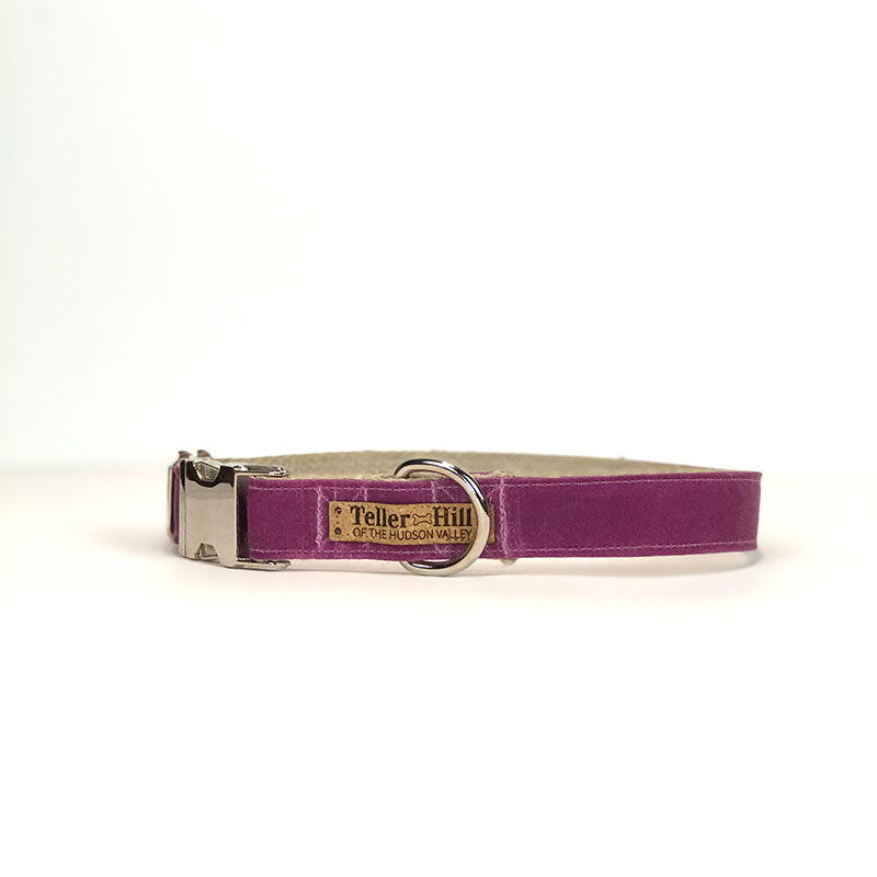Waxed Canvas & Hemp Dog Collar