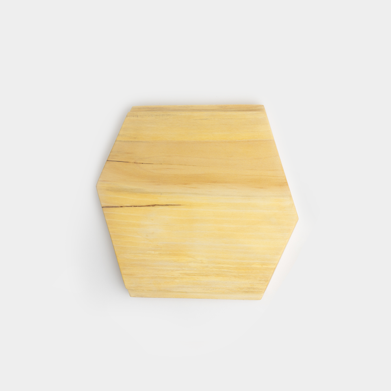 Sycamore Hex Cutting Board