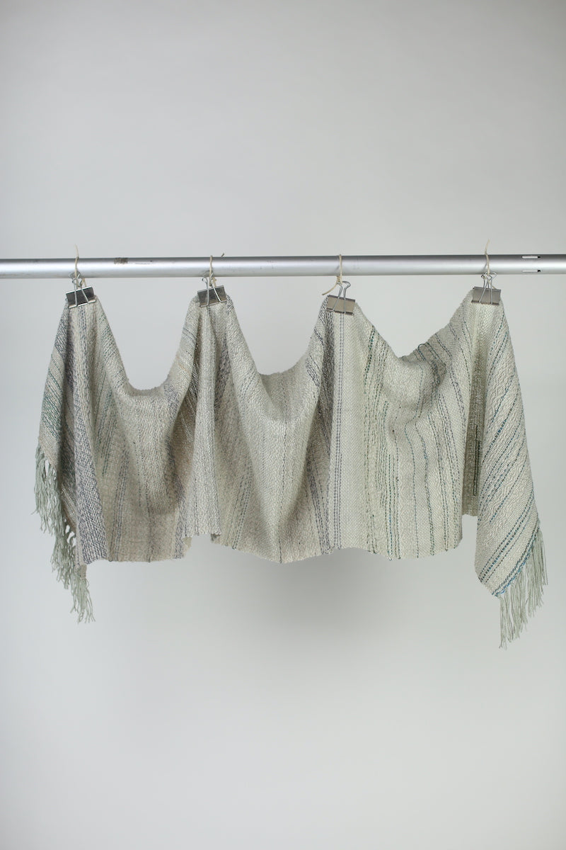 Wool and Cashmere Shawl: Peppermint