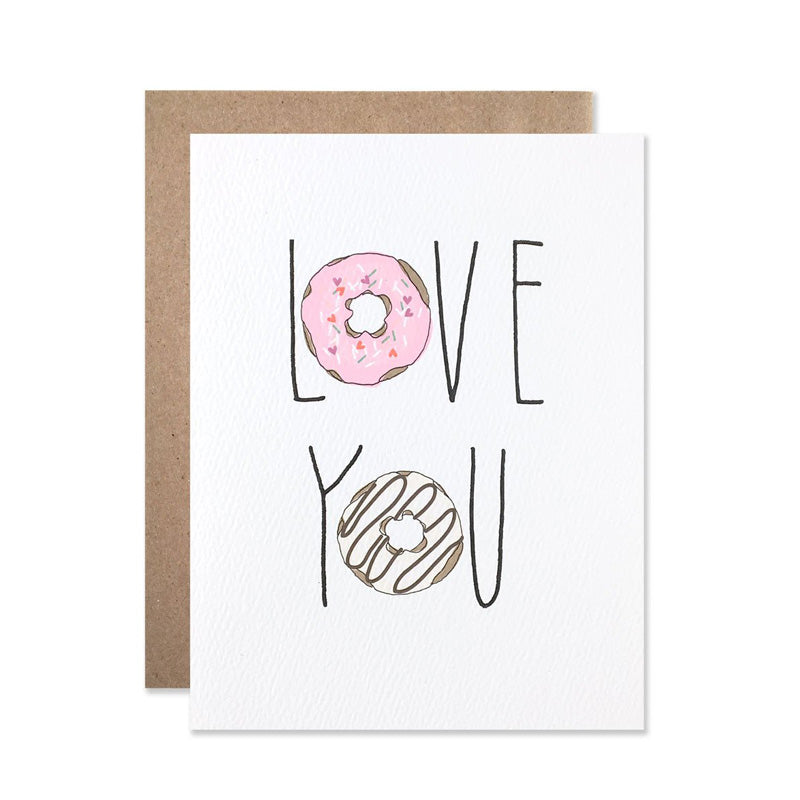 Love You Donuts Card