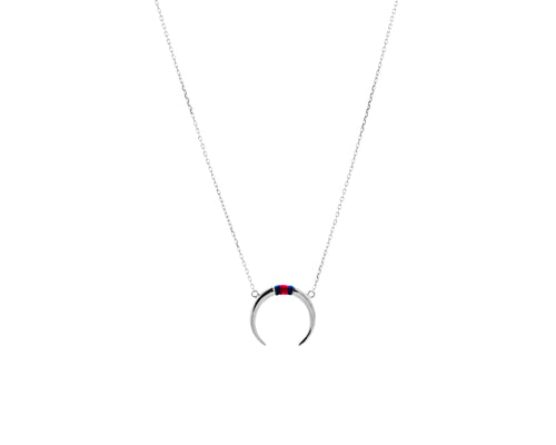 Tommy Necklace | 925 Sterling Silver | Rhodium Plated | Tommy Hilfiger Pendant | Harper Lane Jewellery