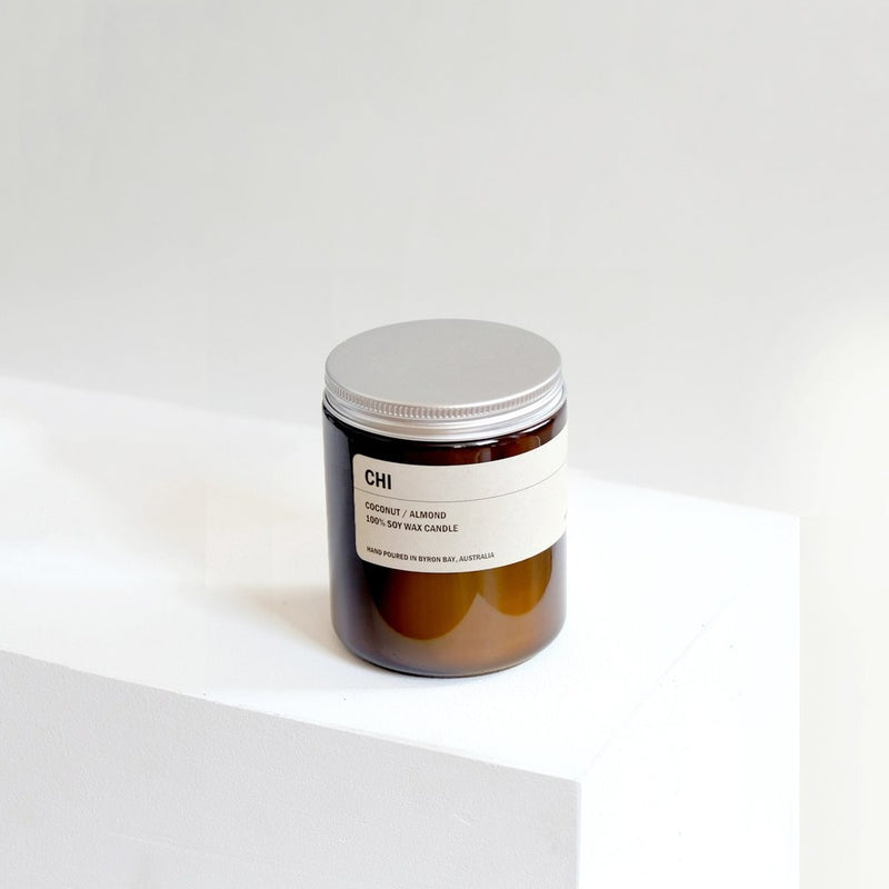 CHI: COCONUT / ALMOND SOY CANDLE 250G