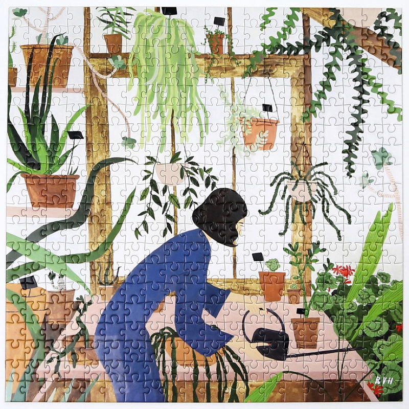Green Haven - Mindful Jigsaw Puzzle
