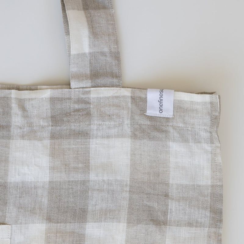 Linen Tote - Florence