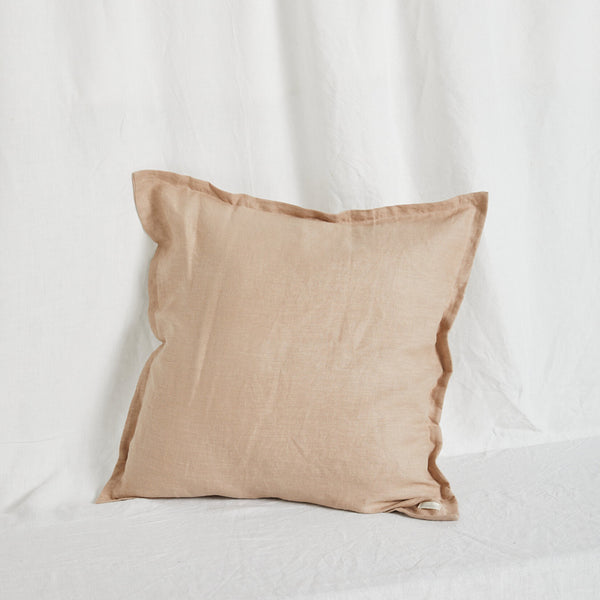 Desert Sand Linen Cushion Cover