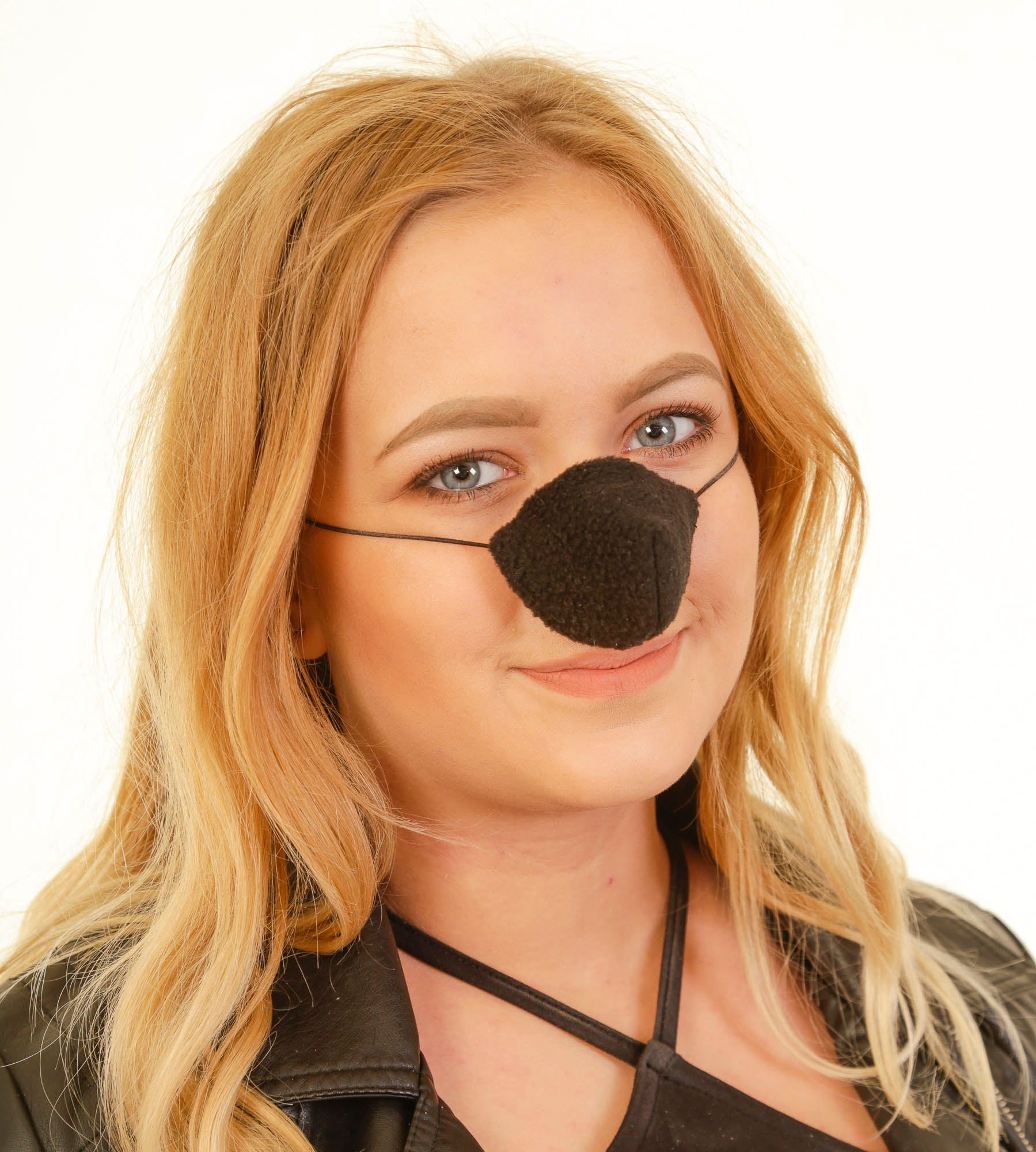 Black Fleece Nose Warmer