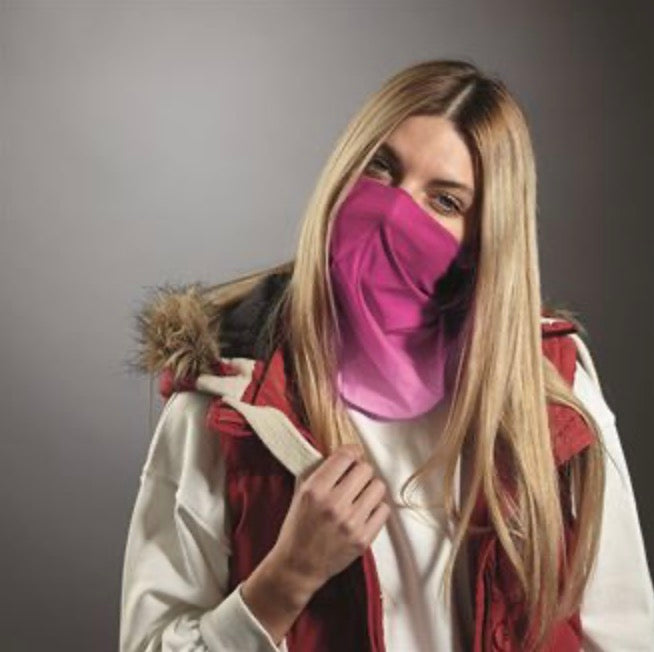 Candyfloss Pinks Ombré Snood
