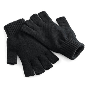 Fingerless Gloves in Black