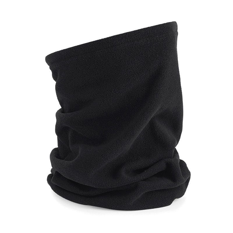 Black Microfleece Ultra Thermal Snood
