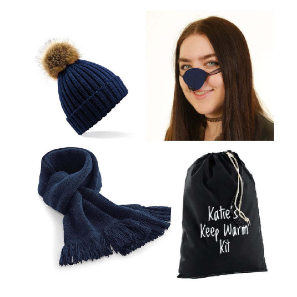 nose warmer, hat scarf gift set