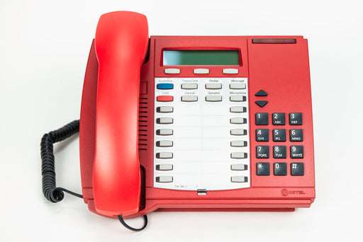 Emergency Red Mitel Superset 4025 Telephone - Professionally Refurbished