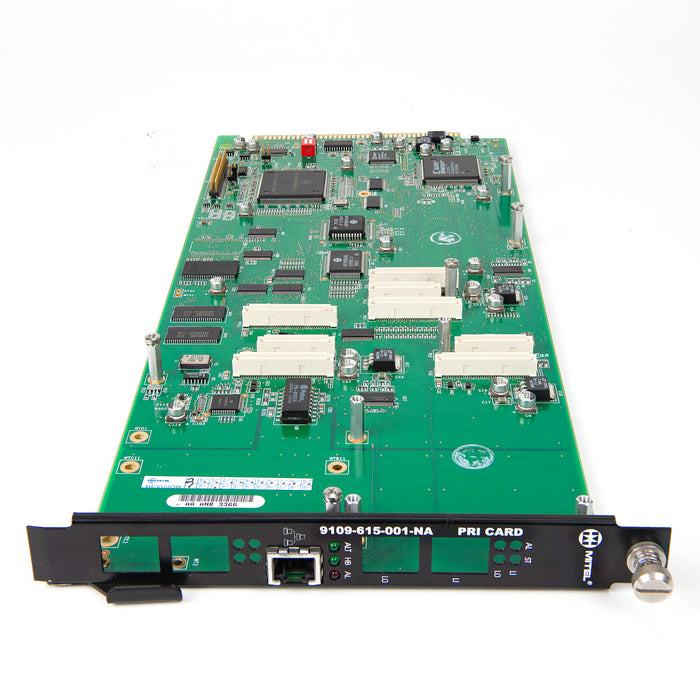 Mitel 9109-615-001 PRI Card without T1/E1 module