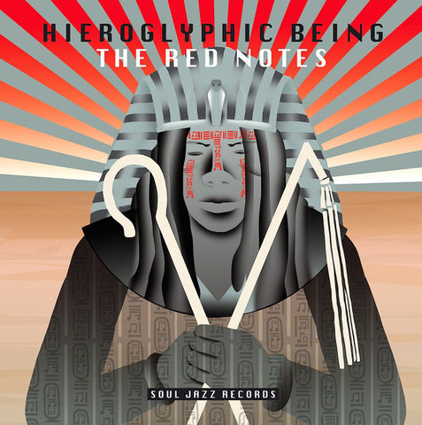 Hieroglyphic Being ‎– The Red Notes : Soul Jazz Records ‎– SJR LP 394 : 2 × Vinyl, LP, Limited Edition