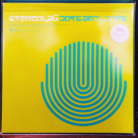 Stereolab ‎– Dots And Loops : Warp Records ‎– none, Duophonic Ultra High Frequency Disks ‎– D-UHF-D17RC : 3 × Vinyl, LP, Album, Limited Edition, Numbered, Reissue, Remastered, Clear