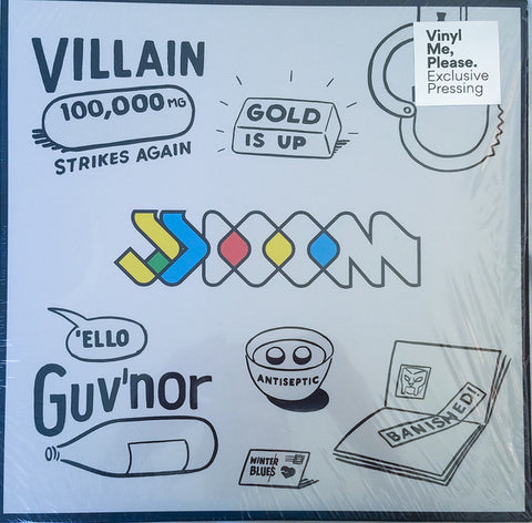 JJ DOOM ‎– Key To The Kuffs : Lex Records Limited ‎– LEX082LP : 2 × Vinyl, LP, Limited Edition, Numbered, Reissue, Repress, Blue [Cyan], 180g