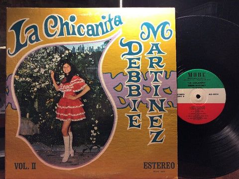 Debbie Martinez - La Chicanita Vol II : More MO-0804 VINYL LP LATIN/POP