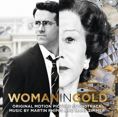 Martin Phipps And Hans Zimmer ‎– Woman In Gold : Music On Vinyl ‎– MOVATM043 : Vinyl, LP, Album, Limited Edition, Numbered, Coloured