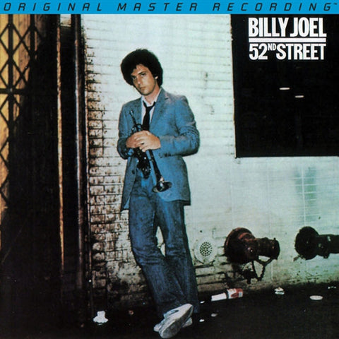 Billy Joel ‎– 52nd Street : Mobile Fidelity Sound Lab ‎– MFSL 2-384 Series: Original Master Recording – , Gain 2™ Ultra Analog 45RPM 180g Series – : 2 × Vinyl, 45 RPM, Album, Limited Edition, Numbered, Remastered, LP