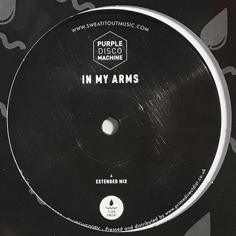 Purple Disco Machine ‎– In My Arms : Club Sweat ‎– CLUBSWE008V : Vinyl, 12""