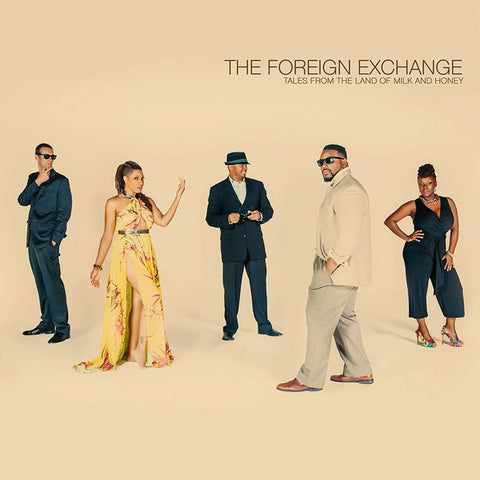 The Foreign Exchange - Tales From The Land Of Milk And Honey - Foreign Exchange Music - FELP0009 - 2xLP, Album, Ltd, Cre