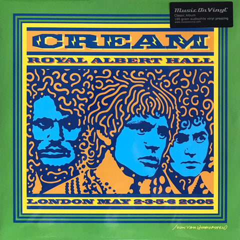 Cream (2) ‎– Royal Albert Hall - London - May 2-3-5-6 2005 : Music On Vinyl ‎– MOVLP1118 : 3 × Vinyl, LP, Album, Reissue, Stereo, 180 gram