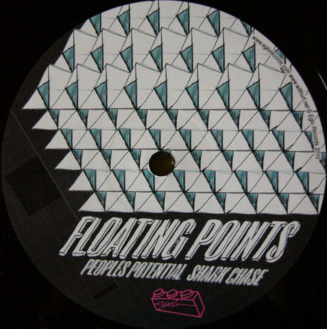 "Floating Points ‎– People's Potential : Eglo Records ‎– EGL 006 : Vinyl, 12"", 45 RPM"