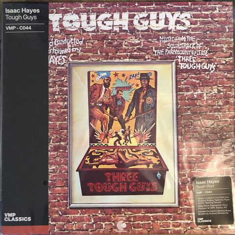 Isaac Hayes ‎– Tough Guys : Enterprise ‎– CR00365 Series: Vinyl Me, Please. Classics – C044 : Vinyl, LP, Album, Club Edition, Limited Edition, Reissue, Remastered, Stereo, 180g, Gatefold