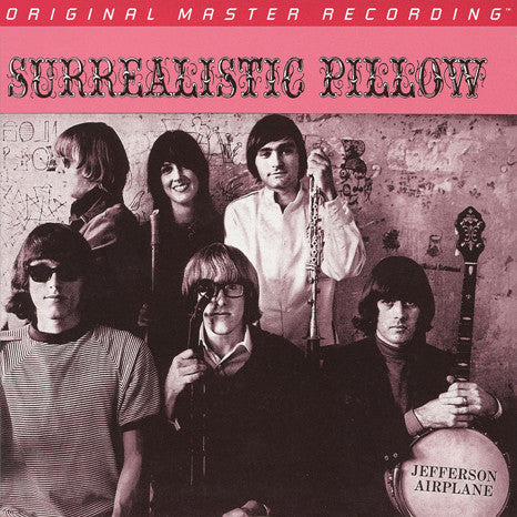 Jefferson Airplane ‎– Surrealistic Pillow : Mobile Fidelity Sound Lab ‎– MFSL 2-456 : 2 × Vinyl, LP, 45 RPM, Album, Limited Edition, Numbered, Reissue, Remastered, Mono, 180g
