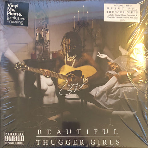 Young Thug ‎– Beautiful Thugger Girls : Atlantic ‎– 563019-1, 300 Entertainment ‎– 563019-1 : Vinyl, LP, Pink Vinyl, LP, Single Sided, Etched, Pink All Media, Club Edition, Mixtape, Numbered