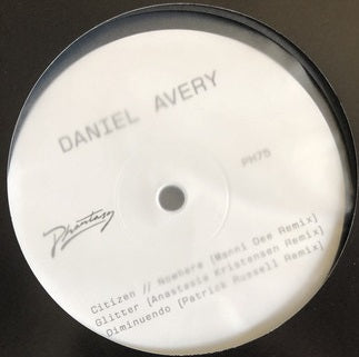 Daniel Avery ‎– Song For Alpha Remixes: One : Phantasy Sound ‎– PH75 : Vinyl, 12""