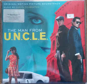 Daniel Pemberton ‎– The Man From U.N.C.L.E. (Original Motion Picture Soundtrack) : Music On Vinyl ‎– MOVATM056 : 2 × Vinyl, LP, Album