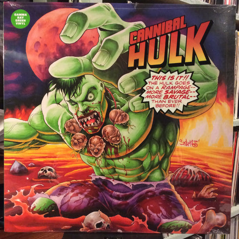 Ill Bill & Stu Bangas ‎– Cannibal Hulk : Uncle Howie Records ‎– UHR5705 : Vinyl, LP, Album, Gamma Ray Green