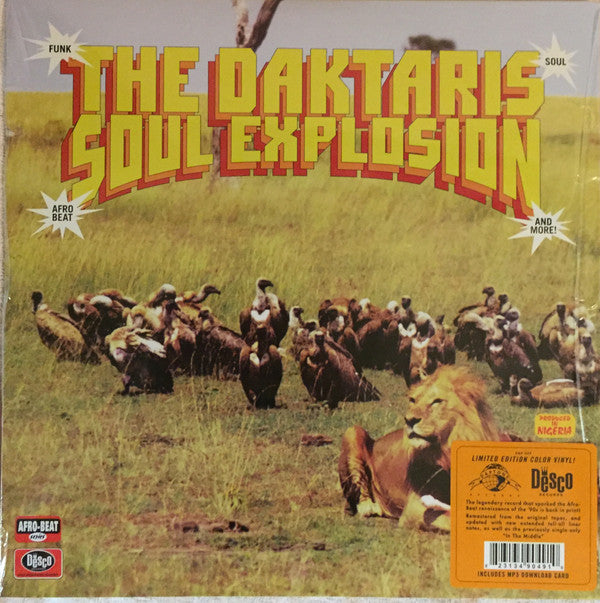 The Daktaris ‎– Soul Explosion : Daptone Records ‎– DAP-049, Desco Records ‎– DAP-049 : Vinyl, LP, Album, Limited Edition, Reissue, Remastered, Orange