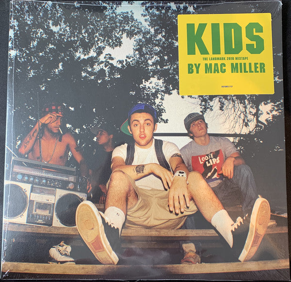 Mac Miller ‎– K.I.D.S. (Kickin Incredibly Dope Shit) : Rostrum Records ‎– RSTRM517LP, Most Dope ‎– none : 2 × Vinyl, LP, Mixtape, Stereo